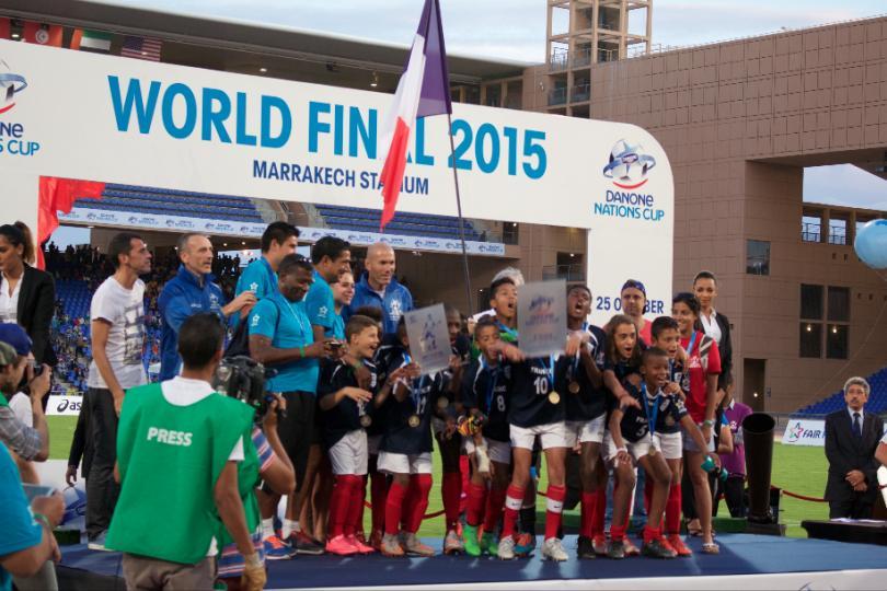 Francia, tercer lugar de la Copa Danone
