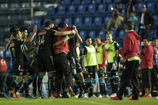 Veracruz rescató un punto del Estadio Azul.
