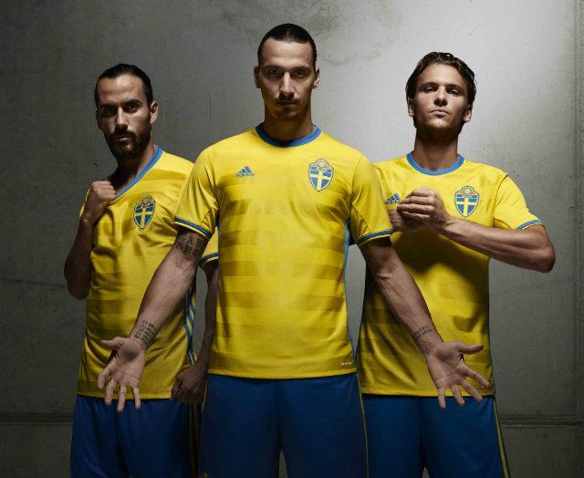 La firma alemana presentó jerseys de tres selecciones