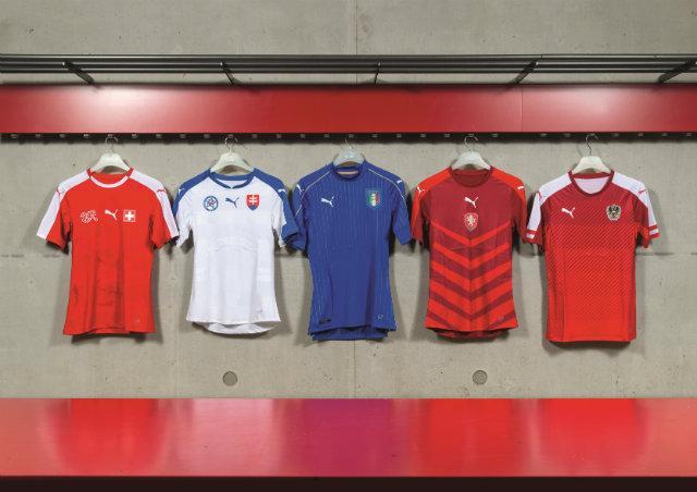 Los cinco jerseys presentados para la Euro 2016