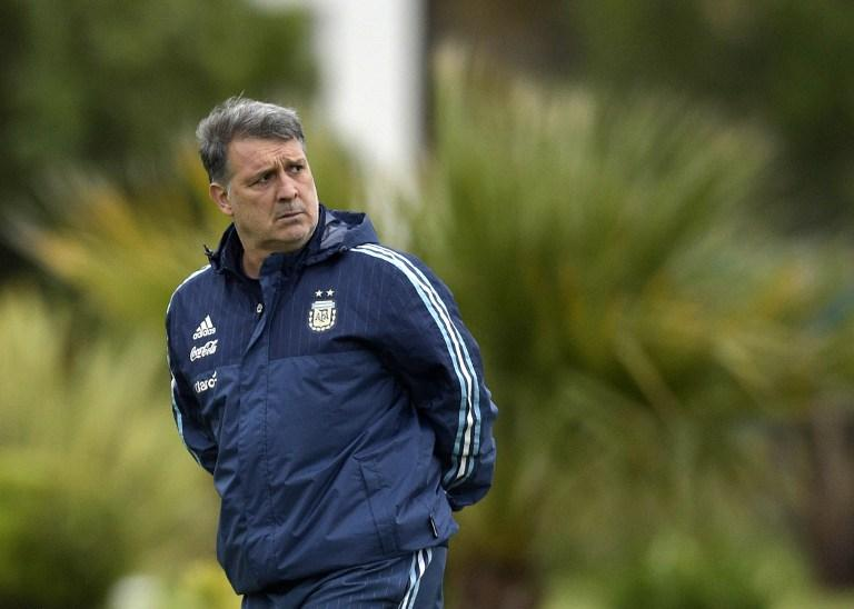 Tata Martino, entrenador de la Selección de Argentina