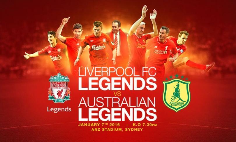 Anuncian partido de leyendas del Liverpool
