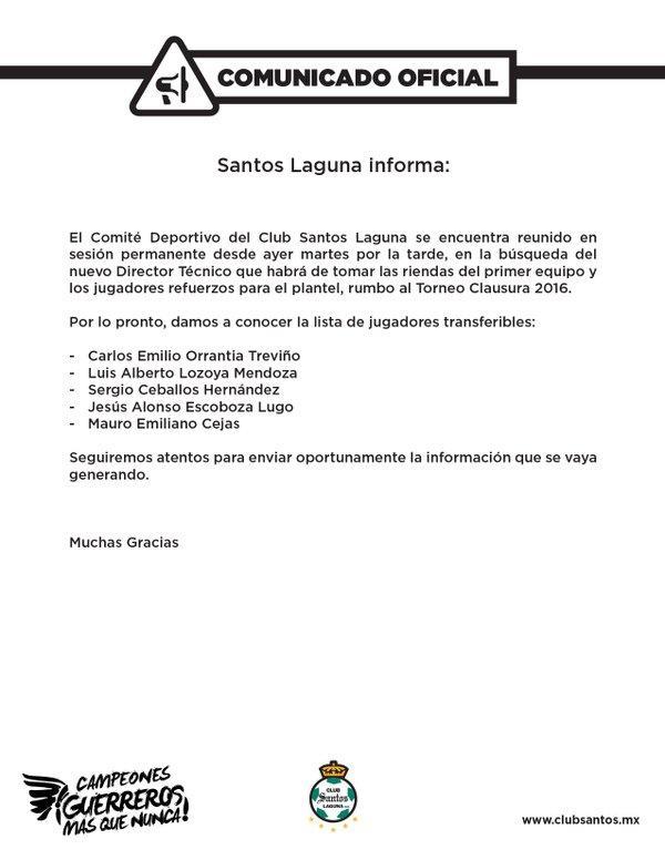 Transferibles de Santos