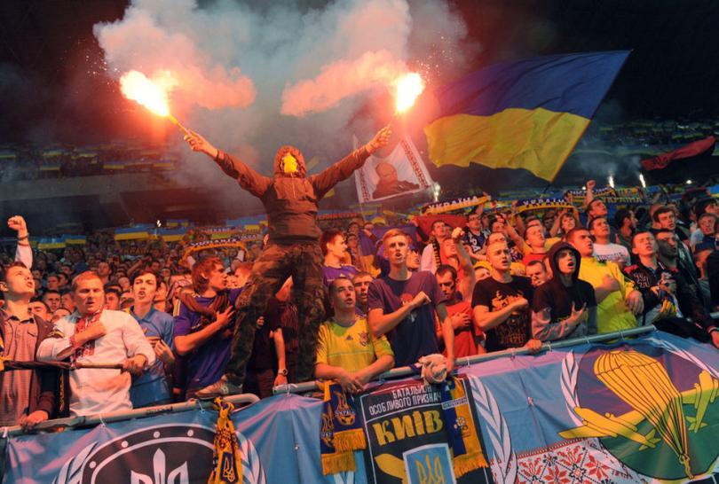 Fans de Ucrania