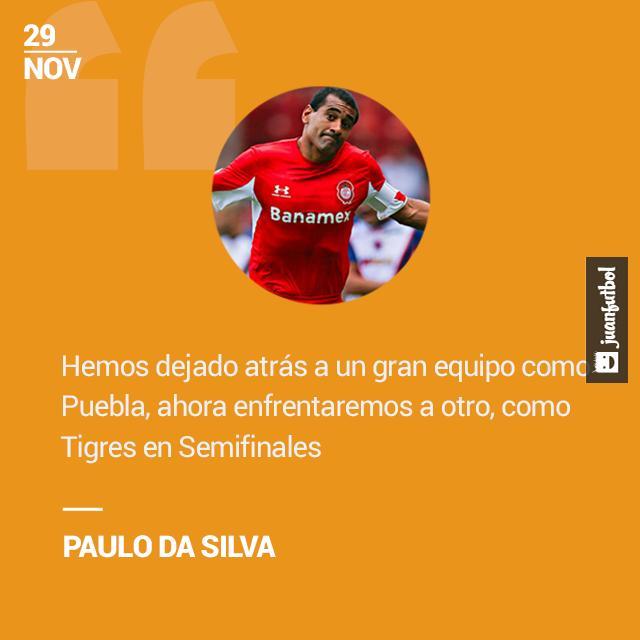 Paulo da Silva afirmó que dejaron atrás a un gran equipo como Puebla, pero que jugarán ante otro grande como Tigres