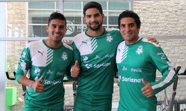Santos Laguna presenta a sus tres refuerzos para el Clausura 2016