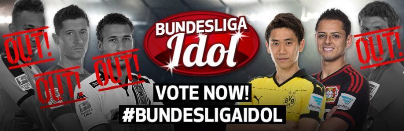 Chicharito vs. Kagawa por el ídolo de la Bundesliga.