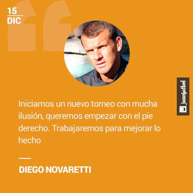 Diego Novaretti desea que León inicie el torneo con el pie derecho