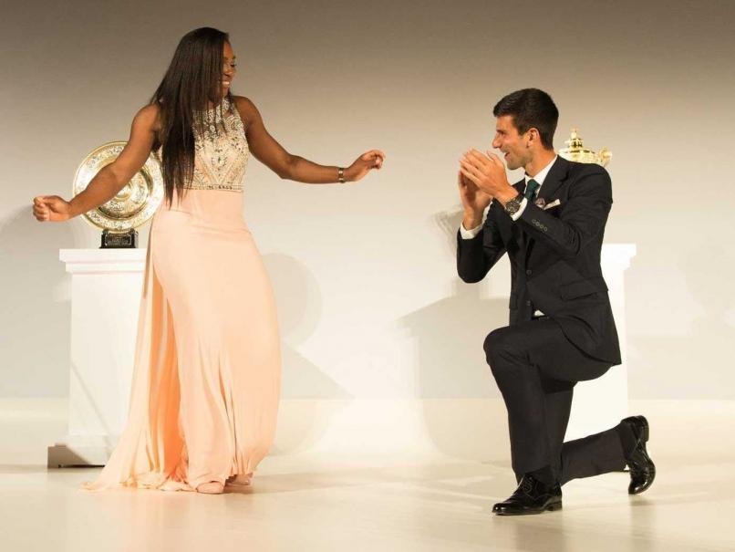 Serena y Djokovic