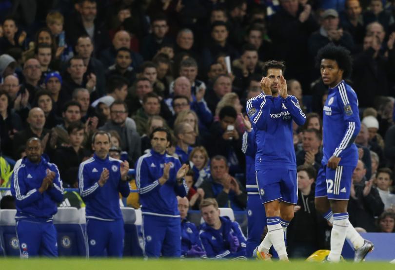 Fábregas agradece a la afición tras la victoria en la Premier League