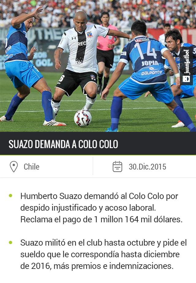 Humberto Suazo sigue sin equipo después de salir de Colo Colo