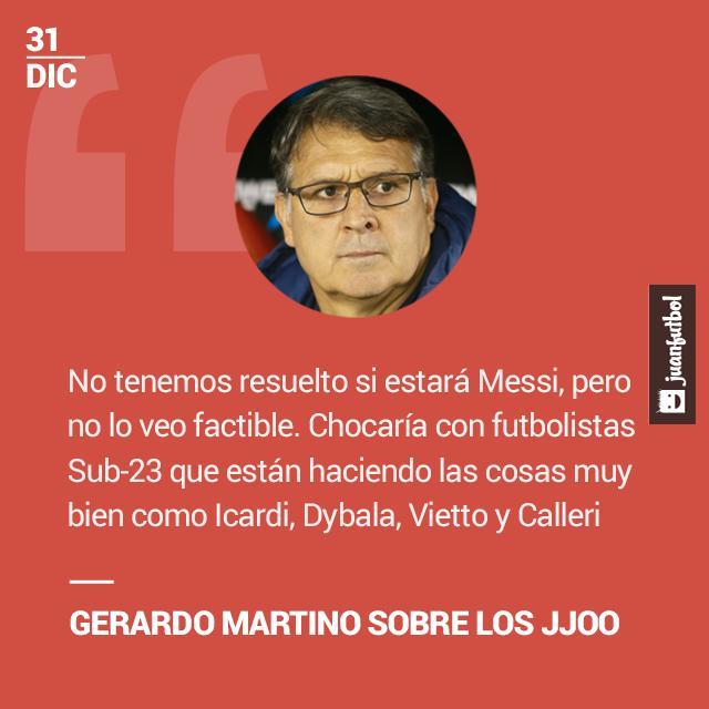 Gerardo Martino.