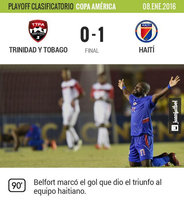 Haití estará en la Copa América Centenario