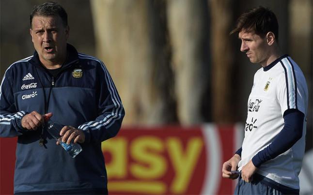 Messi y Martino