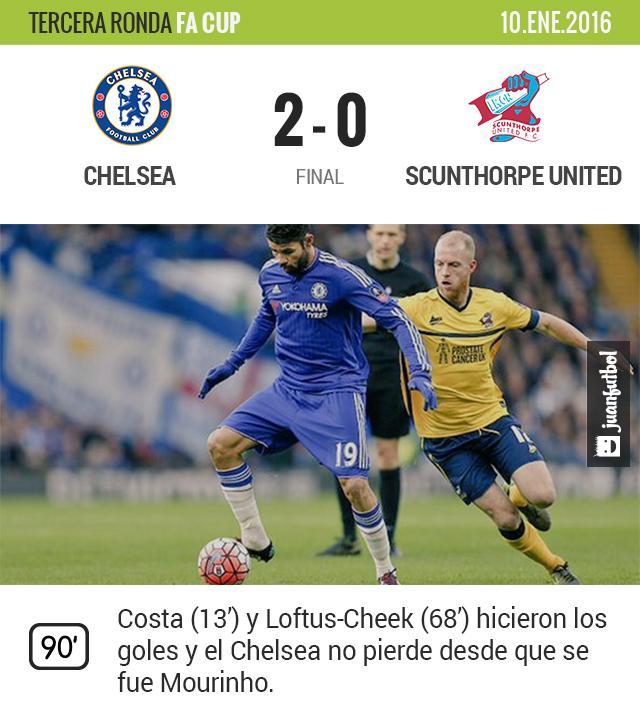 Chelsea - Scunthorpe United