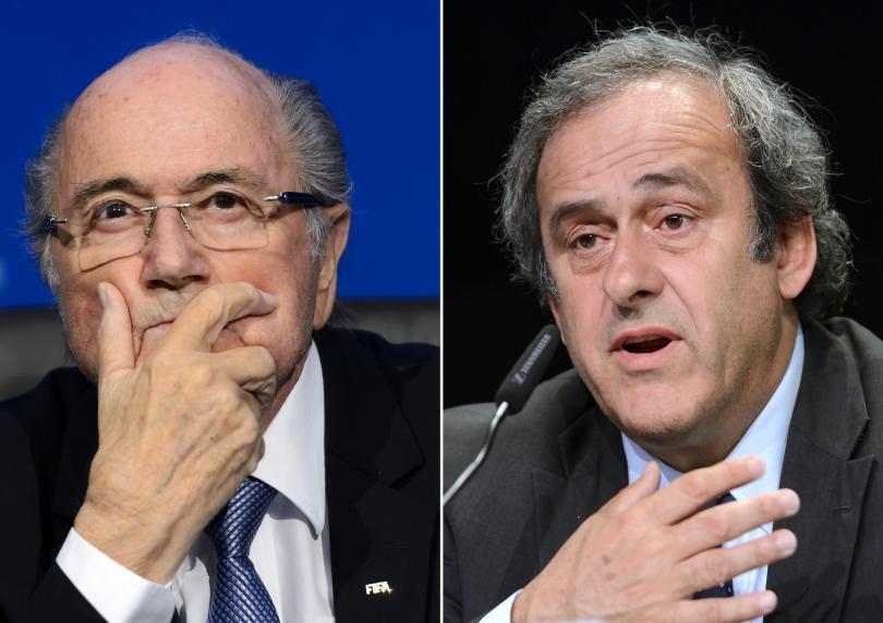 Analizan suspender a Blatter y Platini de por vida