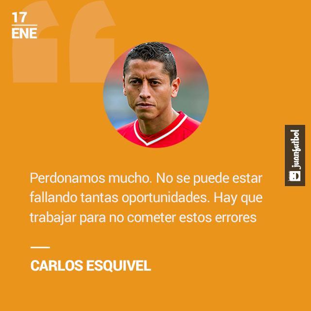 Carlos Esquivel lamenta mucho los errores que cometieron ante Pumas y asegura que eso fue factor para consumarse la derrota