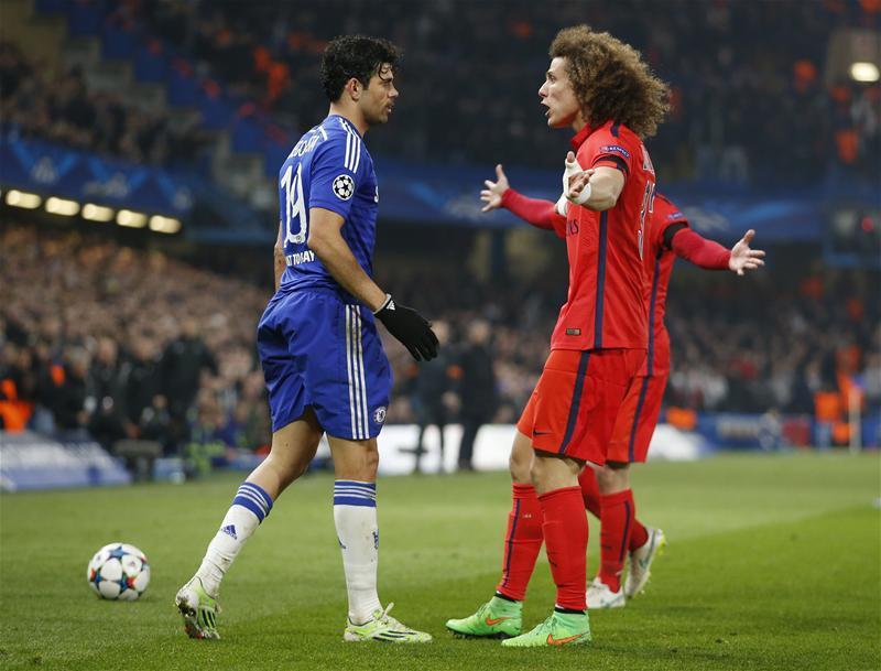 David Luiz quiere a Costa en el PSG