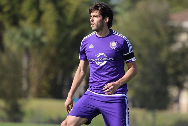 Kaká en entrenamiento