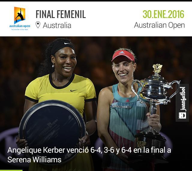 Kerber y Serena