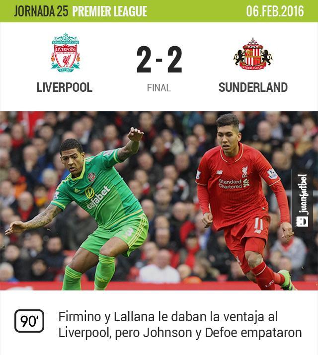 Liverpool-Sunderland