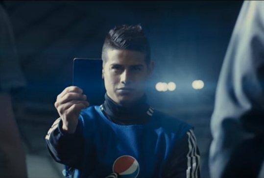 Pepsi patrocina a James