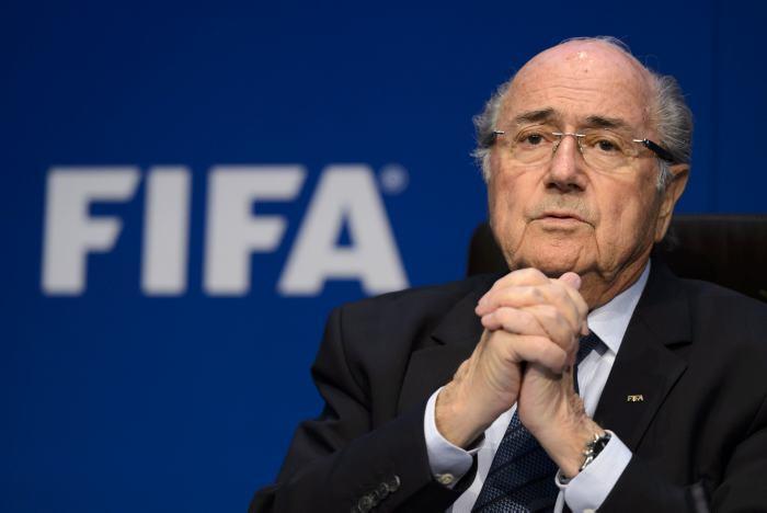 Blatter publicará su libro a finales de febrero