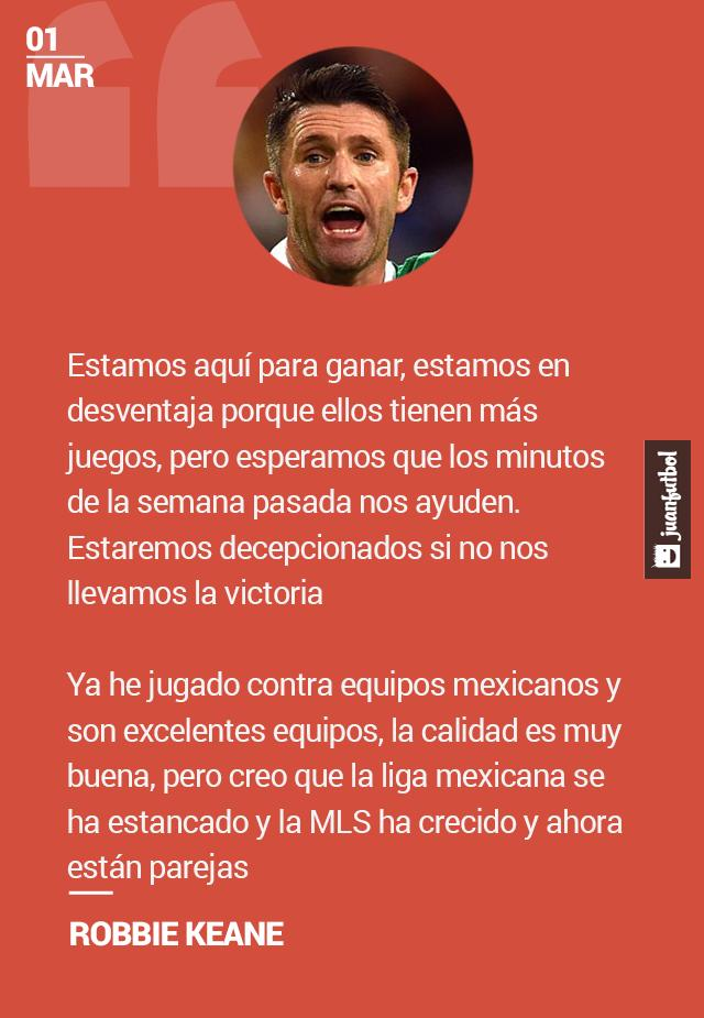 Robbie Keane dijo que la Liga MX se ha estancado