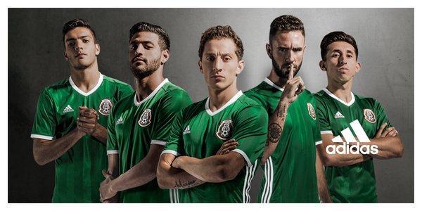 e83aad9c7937c El nuevo jersey de la Selección Mexicana