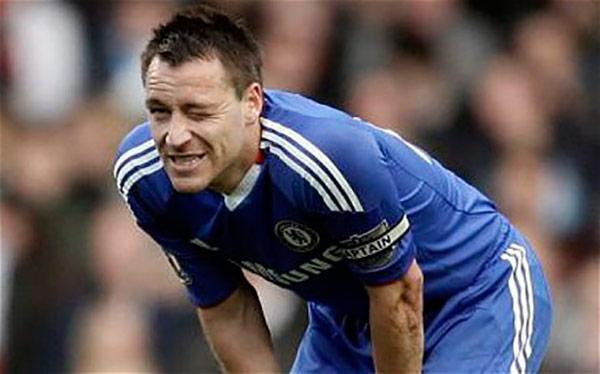 John Terry no podría jugar contra el PSG