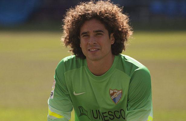 El entrenador del Málaga confía en que Guillermo Ochoa hará un buen papel como portero titular, pues lo considera un gran jugador