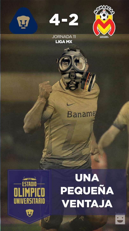 Pumas hizo un gran partido en Ciudad Universitaria.