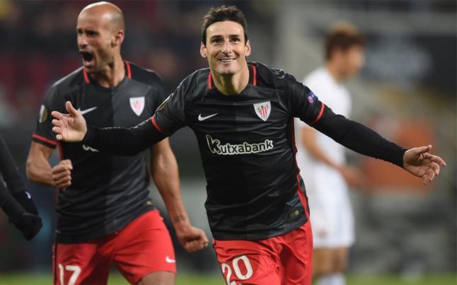 Aduriz contento por regresar a la selección española