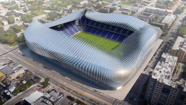 David Beckham junto con los socios del Miami United, aseguraron que compraron un terreno para construir el estadio de su equipo en Overtown.