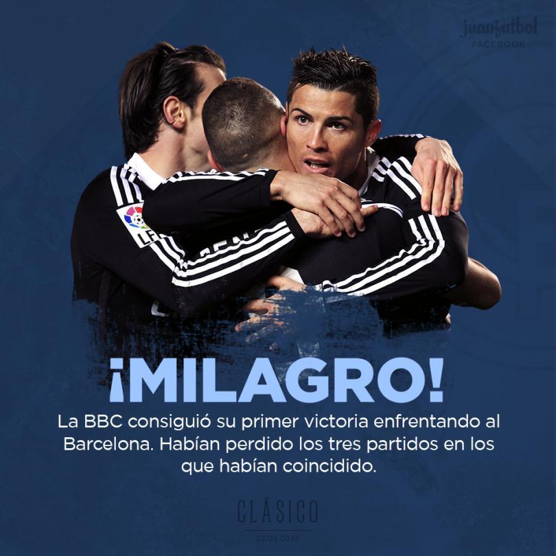 La BBC gana por fin al Barcelona.