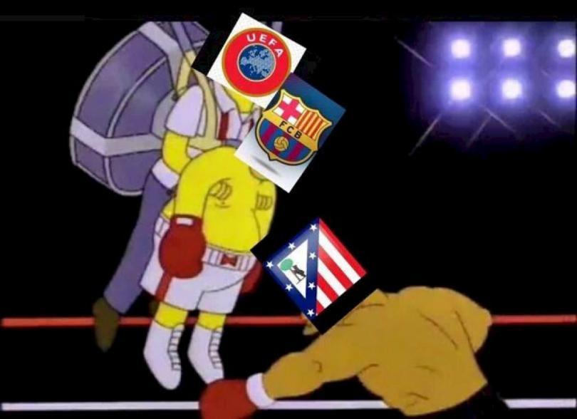 El Barcelona consiguió la victoria