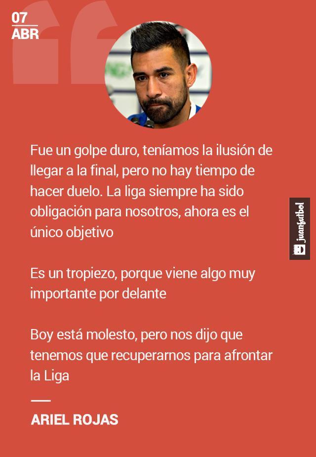 Ariel Rojas habla sobre la derrota de Cruz Azul en la Copa Mx.