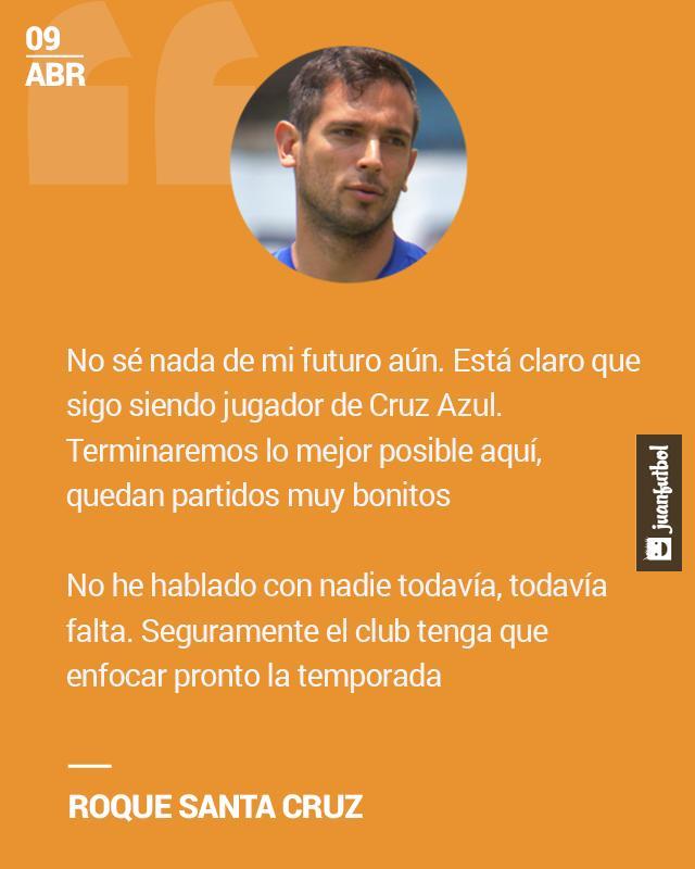Roque jugó varios meses en Cruz Azul y se fue cedido a Málaga.