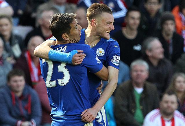 Vardy ha sido fundamental para el Leicester.
