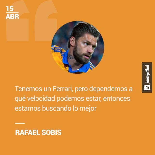 Rafael Sobis cree que Tigres puede mejorar mucho en la Liga MX.