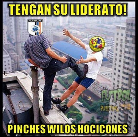 Los memes de la derrota del América en Querétaro