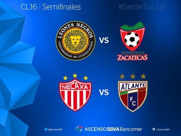 Quedaron definidos los partidos de las semifinales de la Liga de Ascenso.