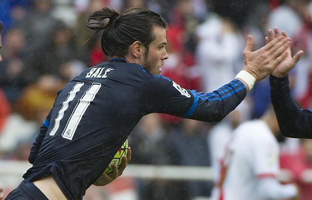 Gareth Bale lidereó la remontada del Real Madrid ante el Rayo Vallecano.