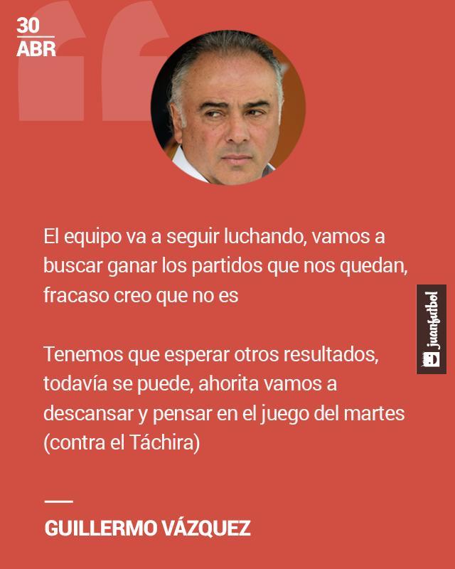 Si Pumas no califica a la liguilla, Memo Vázquez no pensará en un fracaso.