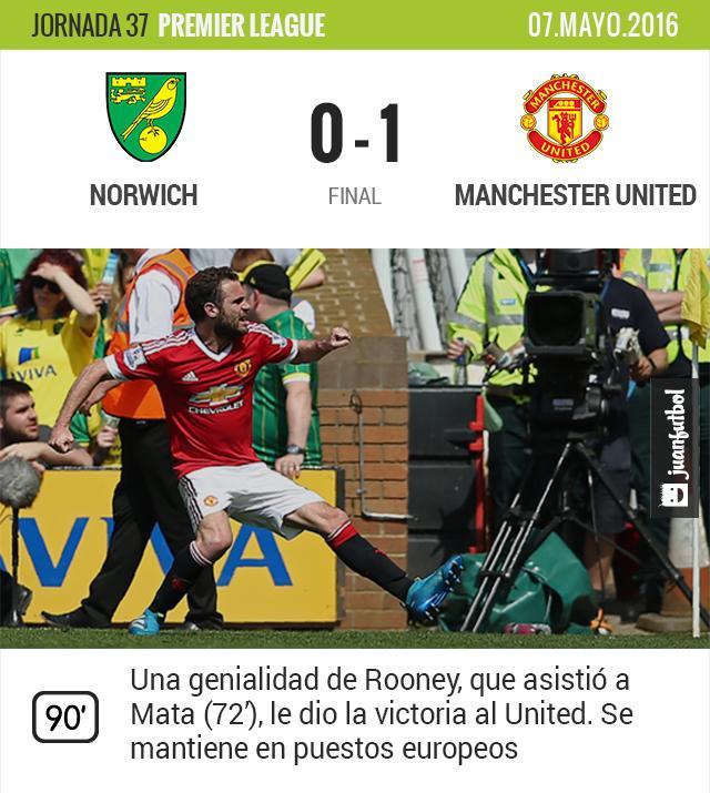 Mata anotó el único gol