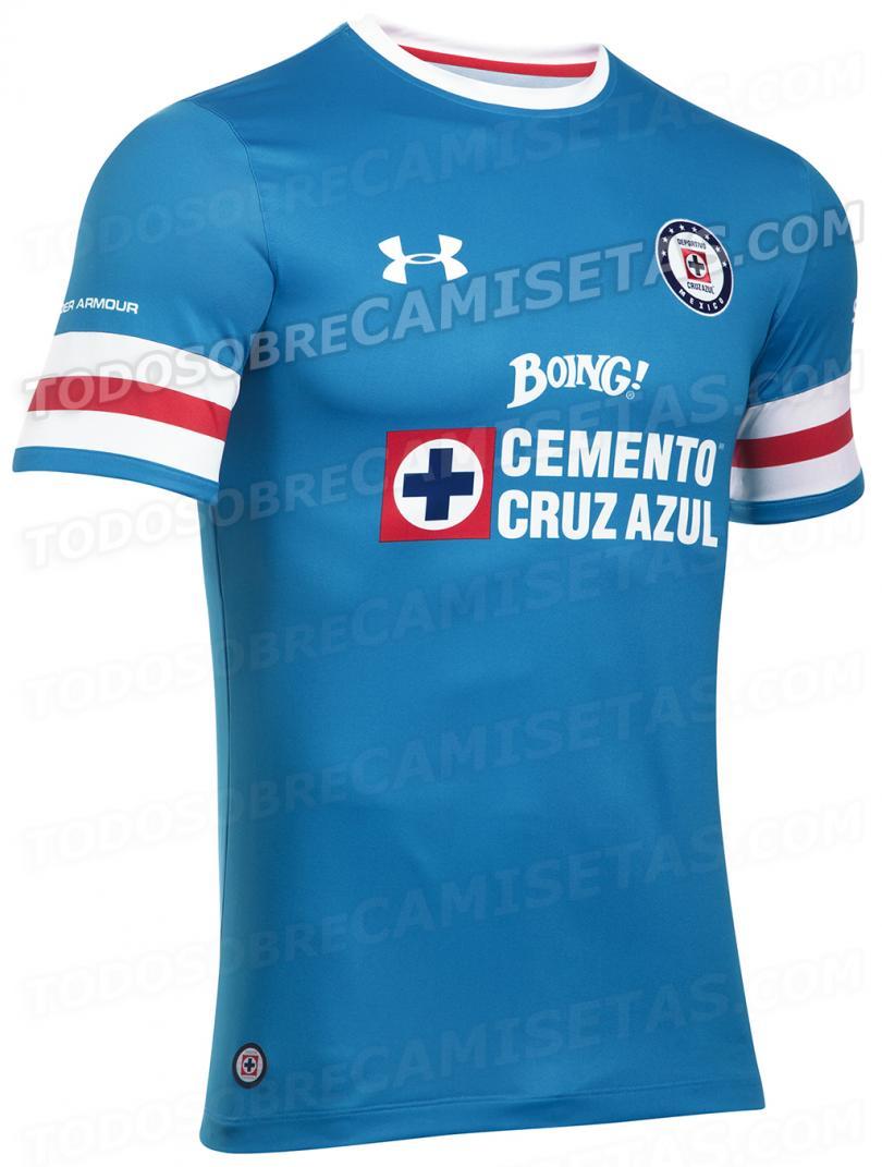 Filtran camiseta de local de Cruz Azul para la siguiente temporada.
