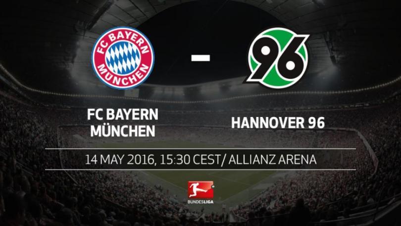 Previa del Bayern vs Hannover.