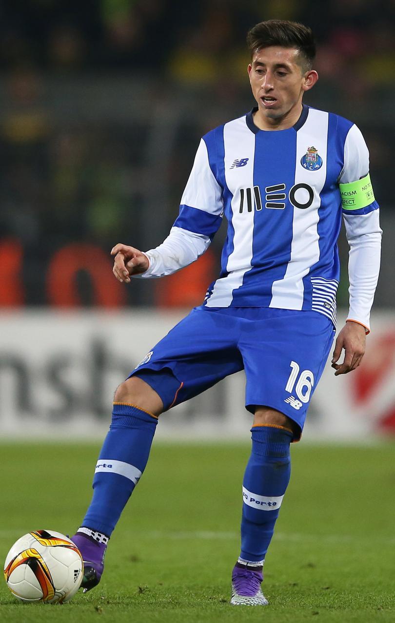 Héctor Herrera con el Porto
