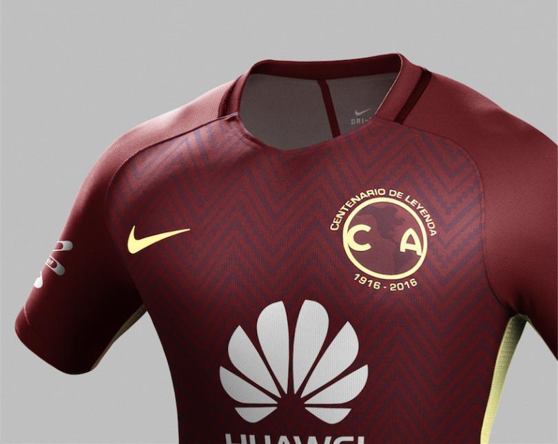 La nueva camiseta alternativa de Nike para el centenario del América