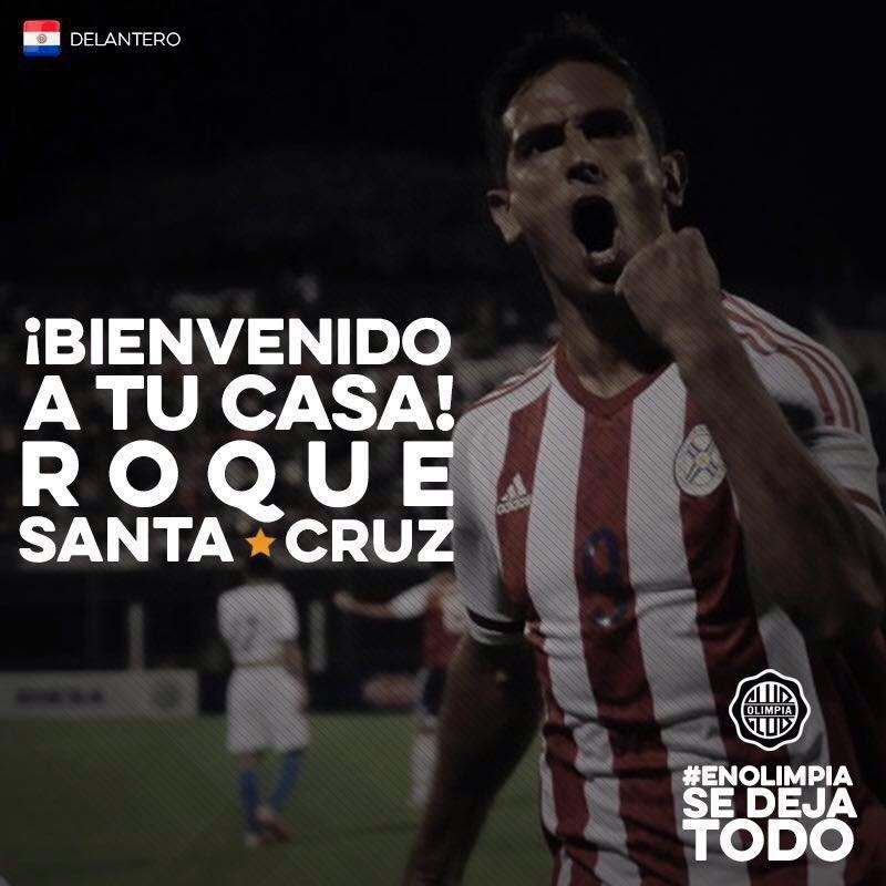 Roque Santa Cruz vuelve al club donde debutó.